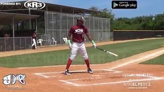 Estarlin Beltre OF 2019 Class from (Angel Perez Baseball Academy)Date video 23.06.2018