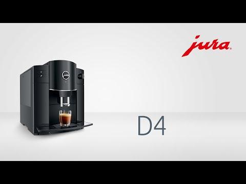 JURA | D4 Piano Black | Kaffeevollautomat - fully automatic coffee machine