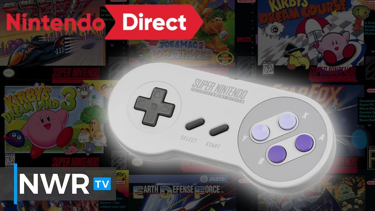 Snes Games Are Hitting Nintendo Switch Online Youtube