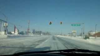 Driving Conditions in Bowling Green 1-6-14