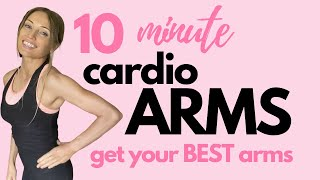 ARM WORKOUT FOR WOMEN | 10 MINUTE TONED ARMS WORKOUT | NO EQUIPMENT |  7 Day Challenge - Start Now