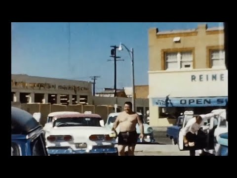 .A 1960s Day at Newport Beach - California - Vintage Video Footage