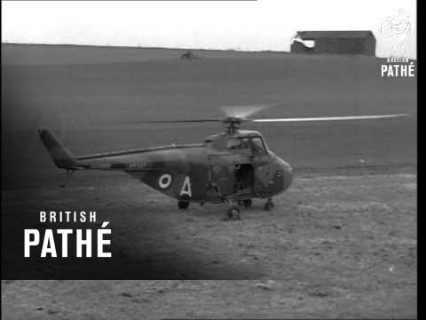 RAF Army Helicopter Exercise (1963)