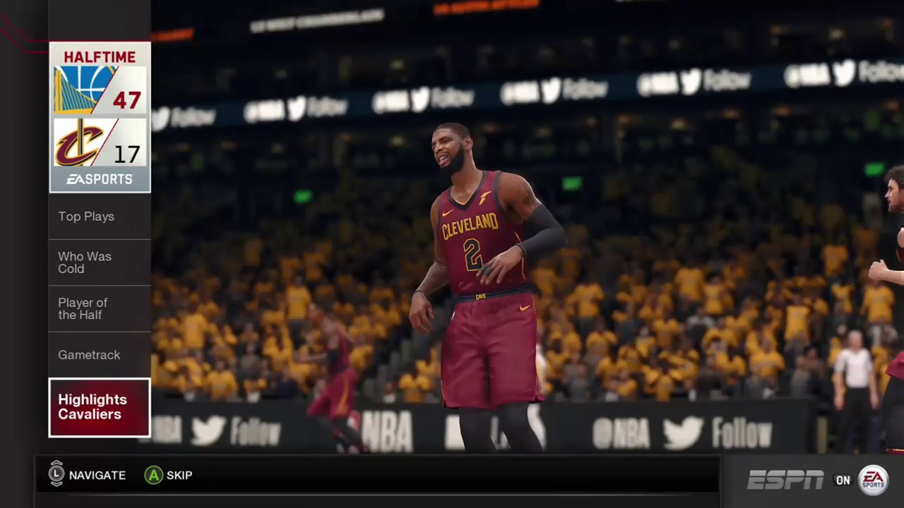 5ab374ebfa19 NBA LIVE 18 GAMEPLAY AND HALFTIME SHOW!!! GOAT clips