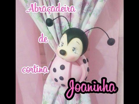 DIY - Abraçadeiras de cortina Joaninha