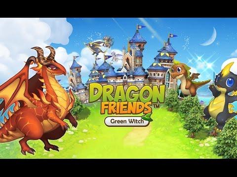 Игра ферма: Драконы-друзья: Зеленая ведьма для Android