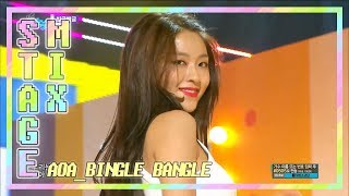 [60FPS] AOA - 빙글뱅글(Bingle Bangle) 교차편집(Stage Mix)