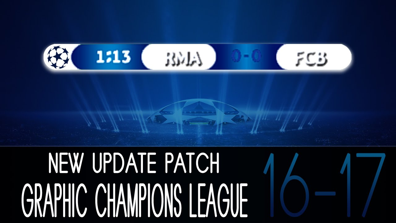 New Update Patch Graphic • Champions League