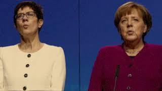 Antonia von Romatowski als Merkel + AKK – Der Pillepalle-Kanon