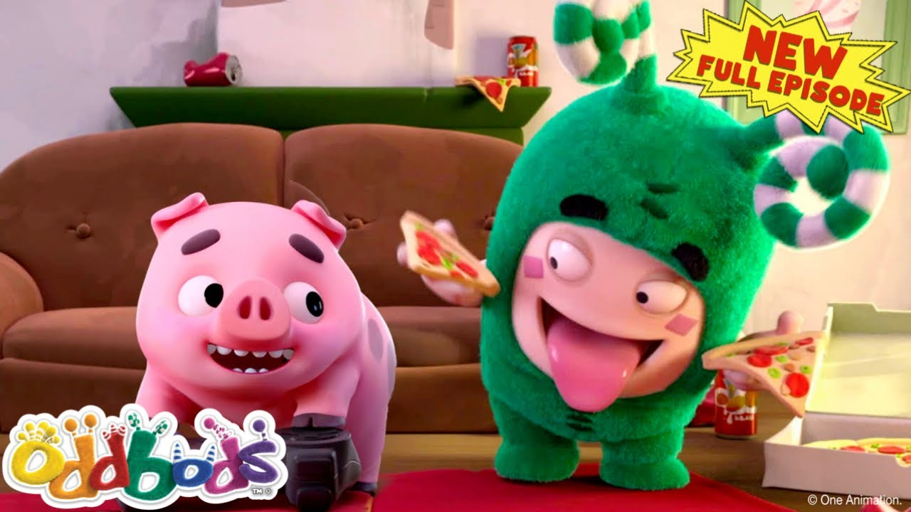Funny Cartoon Videos for Kids   Zee and Piglet Love Pizza   NEW Full Epsiode by Oddbods