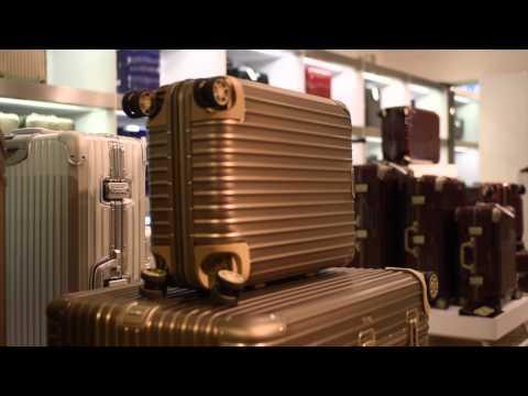 Harrods Luxury Luggage Department - YouTube