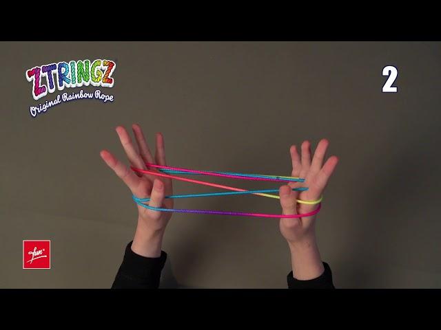 Ztringz Academy: Figure Cats Cradle Solo - Cat's Cradle Solo - Singola cesta del gatto 20