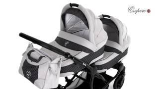 Коляска для двойни Esspero Duetto  - для новорожденных.