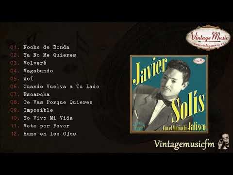 Javier Solís Colección Mexico Rancheras 2 Full Album álbum Completo Youtube