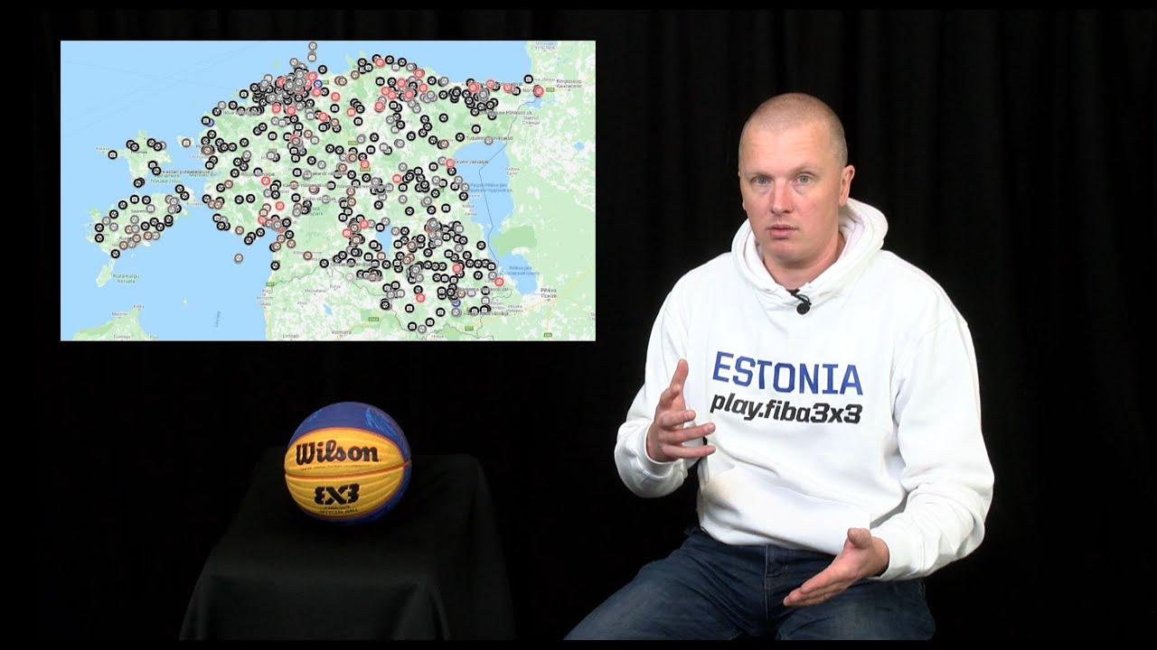 Kuidas kategoriseerida korvpalli väliväljakuid Eestis?