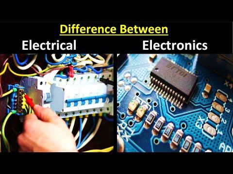 Electrical Vs Electronics