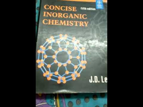 Jd Lee Inorganic Chemistry For Iit Jee Pdf