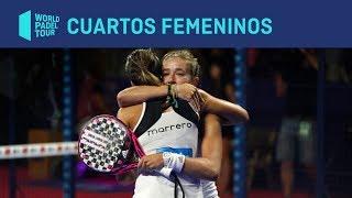 Resumen Cuartos de Final Femeninos (Primer turno) Estrella Damm Madrid Master