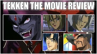 Reviewing 1998s Tekkens The Motion Picture (Tekken Anime Movie)