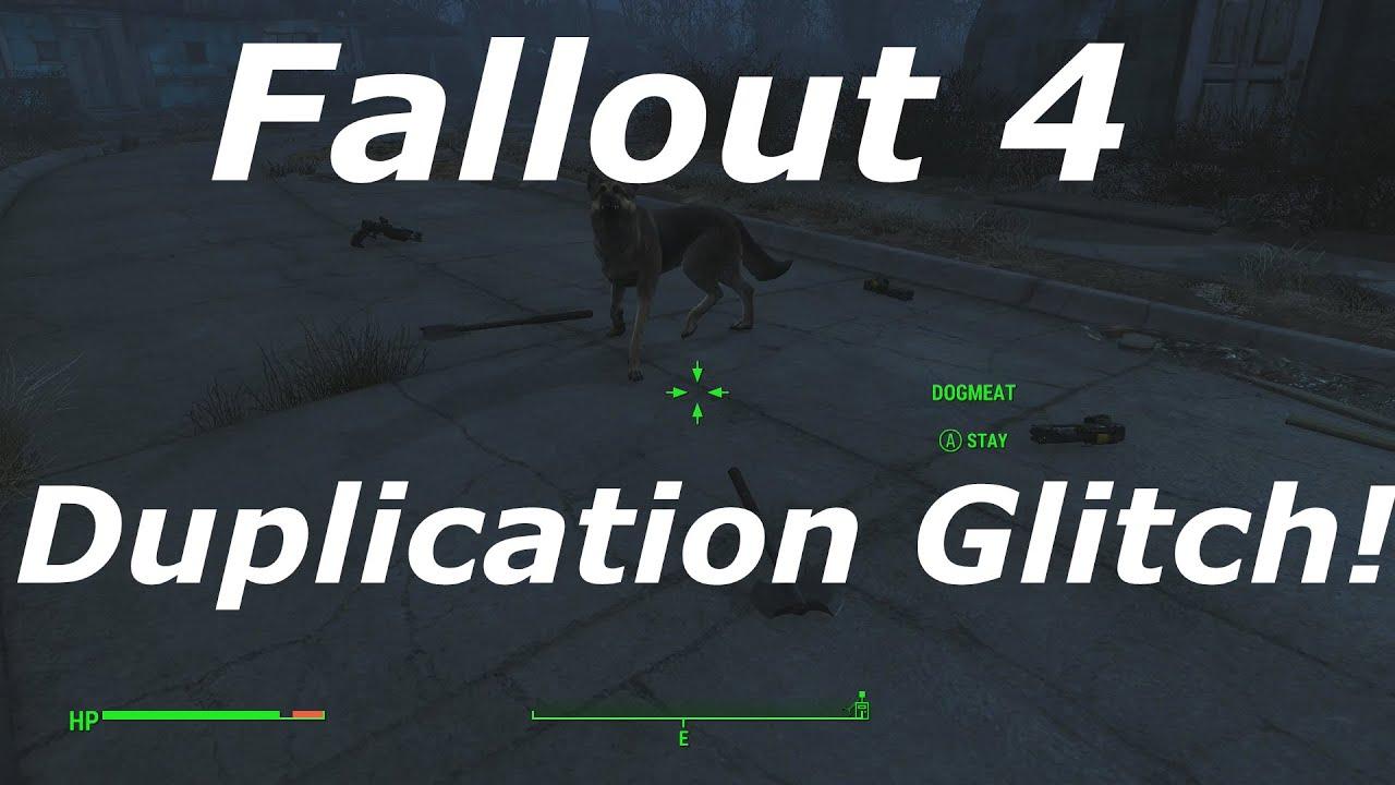 fallout 4 duplication glitch patched