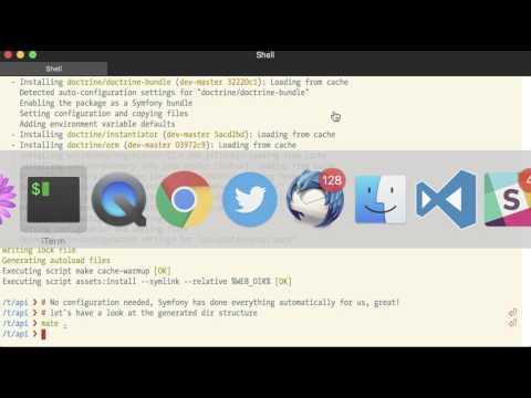 Symfony Flex - Demo - Creating an API project