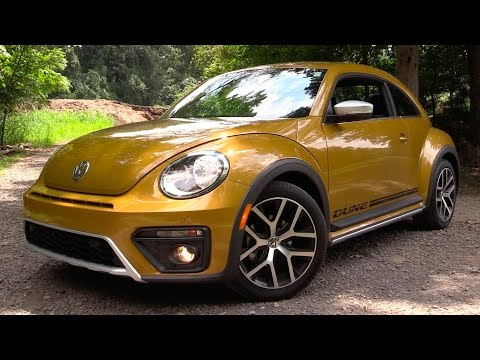 2016/2017 Volkswagen Beetle Dune Review: Funky, Fun & Endear
