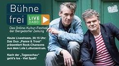 """Bühne frei - Live dabei! Rock-Chansons mit """"Panne & Trost"""""""