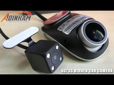 Firstscene T1 - 4G/3G Hidden Car Camera Support Car Monitor & Tracking