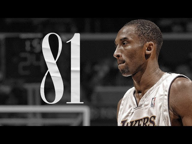 The Game When Kobe Bryant Scored 81 Points & Became The Legend | January 22, 2006