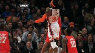 Melo and Balkman ignite the Garden