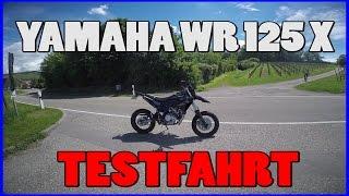 Скачать Yamaha WR 125X TEST 0 100 Km H Walkaround Sluty