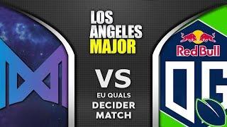 Nigma vs OG.Seed Decider ESL One Los Angeles Major 2020 EU Highlights Dota 2