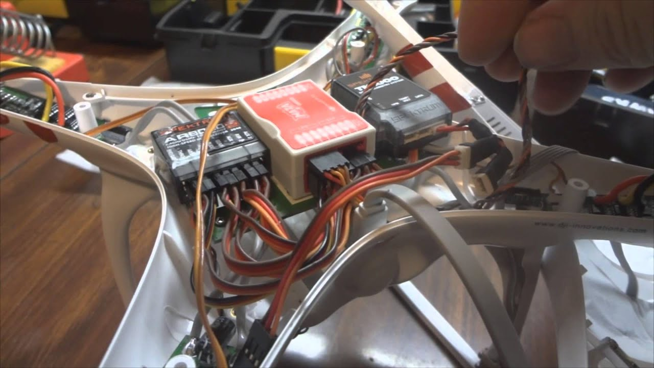 maxresdefault dji phantom spektrum ar8000 tm1000 installation youtube spektrum ar8000 wiring diagram at gsmx.co