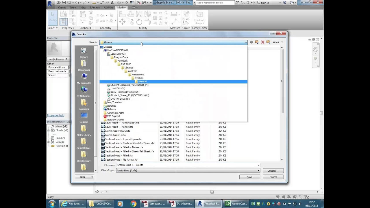 08 Revit Graphical Scales