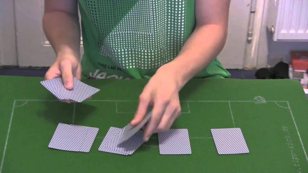 Kartentricks Einfach
