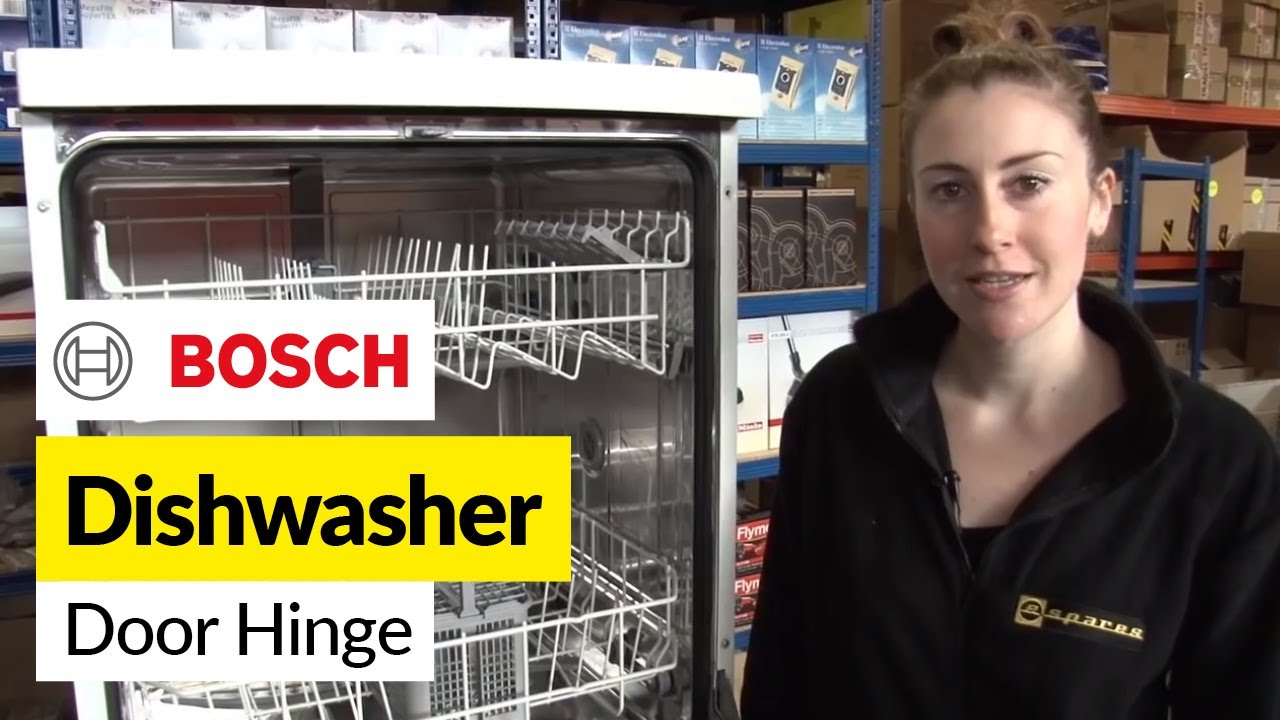 Superieur How To Replace A Dishwasher Door Hinge On A Bosch Dishwasher