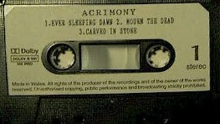 Acrimony- A Sombre Thought Full Demo 1992
