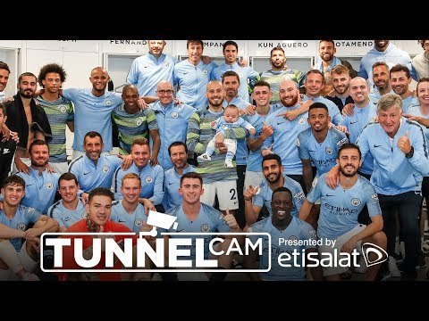 TUNNEL CAM | Man City 6-1 Huddersfield | 19th Aug 2018
