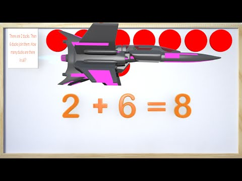 Addition Word Problems 1st Grade - Part Two