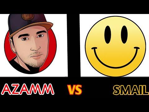 AZAMM VS SMAIL!!! кто кого? - (FREE FIRE)
