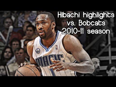 Gilbert Arenas 16 pts, 3 reb & 2 ast (NBA RS 2010/2011 - Charlotte Bobcats vs. Orlando Magic)