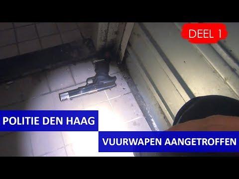 Politie Den Haag - Nachtdienst - Bureau Heemstraat - Vuurwapen aangetroffen