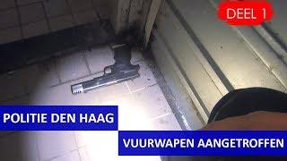 Politie Den Haag  Nachtdienst  Bureau Heemstraat  Vuurwapen aangetroffen