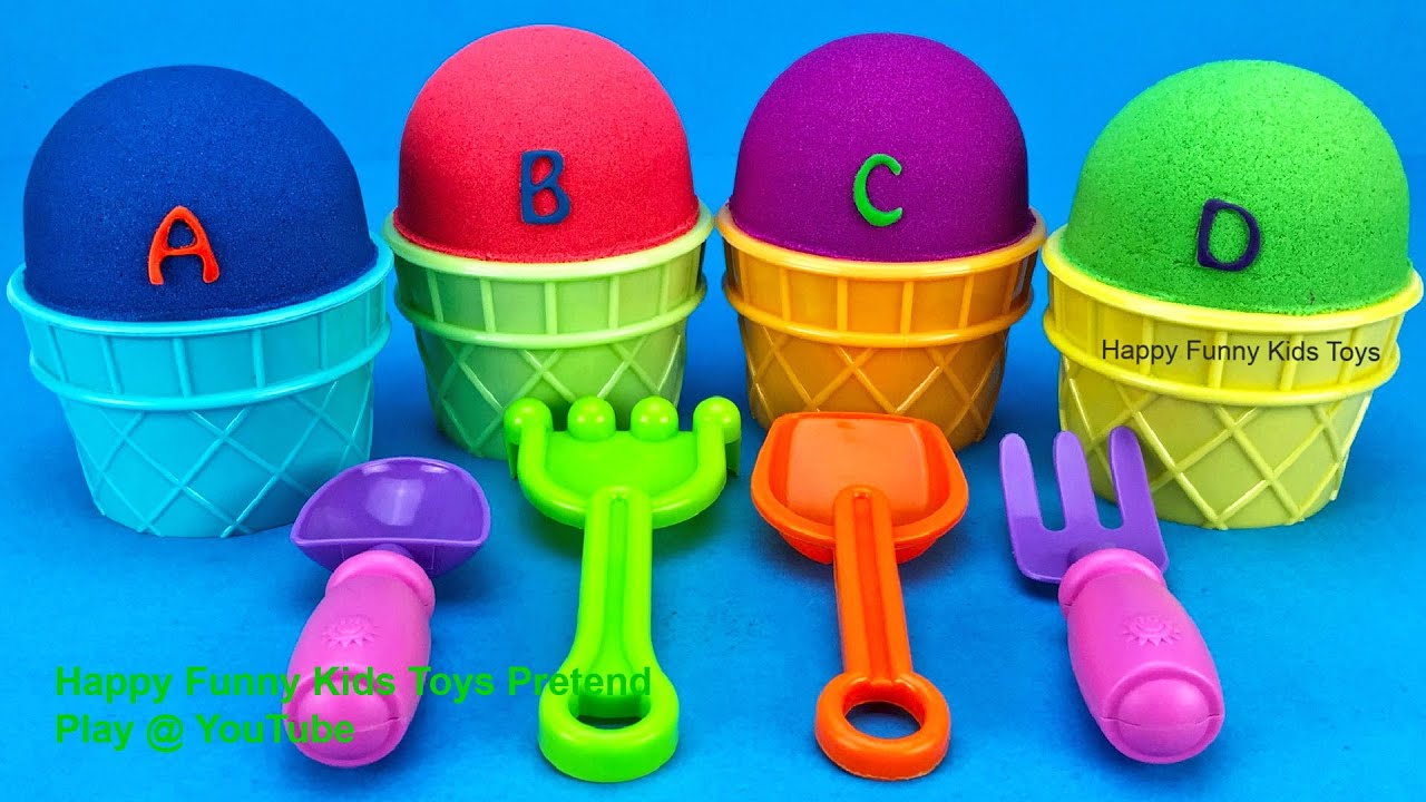 Kinetic Sand Ice Cream Cups Surprise Eggs Splashlings Surprise Toys Puppy In My Pocket