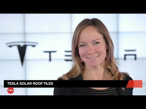 Solar-Dachziegel von Tesla