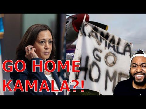 Kamala Harris Told To GO HOME While In Guatemala As The President Blames Biden For Border Crisis!