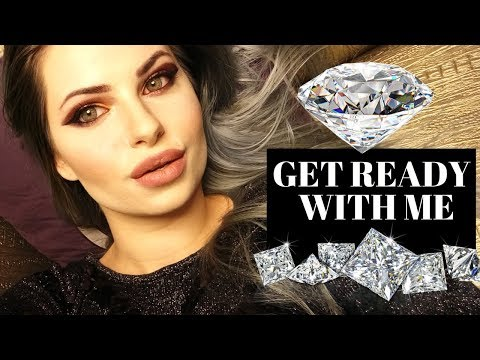 💎 Get Ready With Me 💅 Great Gatsby Style Makeup Tutorial 💄 Huda Beauty Eyeshadow Palette 💎 thumbnail