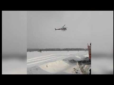 Пострадавших в ДТП увезли на вертолёте / Новости