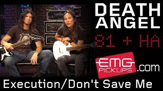 "Death Angel plays ""Execution/Don't Save Me"" for EMGtv"