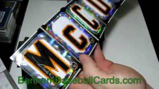 #64 - 2010 Topps Finest Baseball Cards - 1st Hobby Box Break - My Best Box Ever (Part 2 of 2)